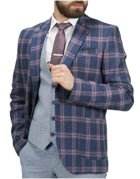 2b9cb11526cf Premium Denim Ανδρικό Σακάκι