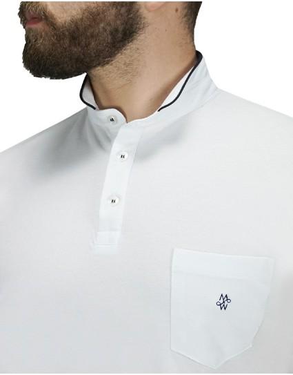 Me & My Ανδρική Μπλουζα Polo  (2111)