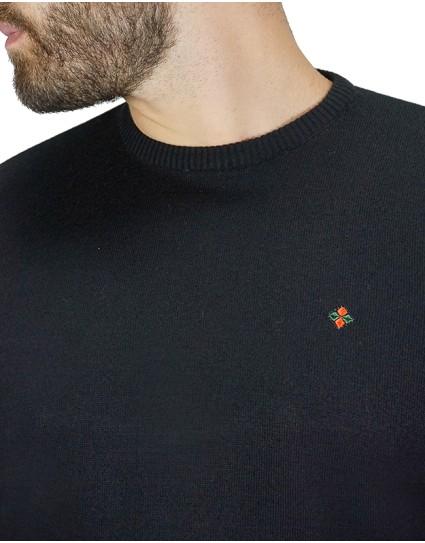 Cotton Green Man Sweater