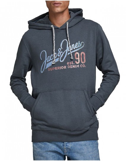 "Jack & Jones Man T-shirt ""JACK PRINT SWEAT HOOD"""