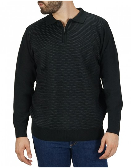 "Lexton Man Sweater ""OLIVER ZIP"""