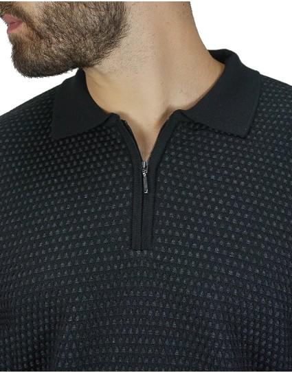 "Lexton Man Sweater ""OLIVER ZIP"""