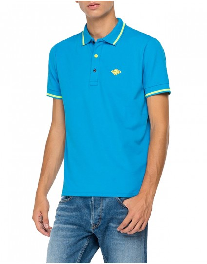 Replay Man Polo T-shirt